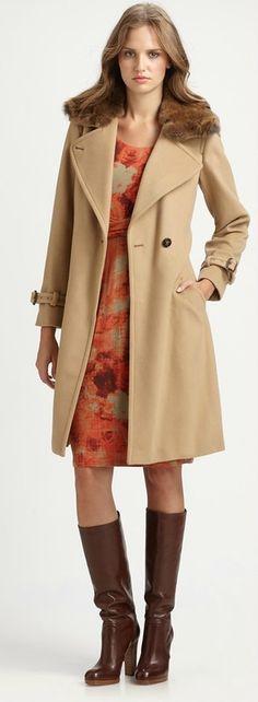 """Вещь: пальто цвета """"кэмел"""" - Fresh - Свежий взгляд на стиль"""