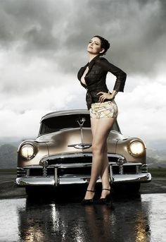Hot Rod Pin Up, love to get good enough to do modeling photos.