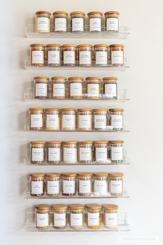 Woodworking Joinery The Family Handyman BEAUTIFUL spice rack organization! Joinery The Family Handyman BEAUTIFUL spice rack organization! Spice Rack Organization, Kitchen Organization Pantry, Home Organisation, Organization Ideas, Organized Kitchen, Pantry Storage, Spice Storage, Spice Rack For Pantry, Spice Rack On Door