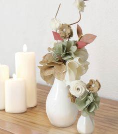 Burlap Flower Bouquet