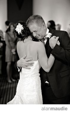 Father and Daughter first dance, Father crying, Calgary Wedding, Calgary Wedding Photographer