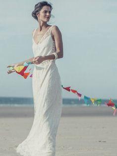 robe de mariée andersen de laure de sagazan