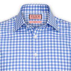 Coddenham Check Shirt - Double Cuff by Thomas Pink