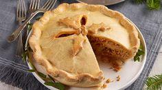 Jean-Philippe Cyr's Millet pie Vegan Pie, Vegan Butter, La Tourtiere, Confort Food, Unbleached Flour, Pie Tops, Butter Spread, Canadian Food, 30 Minute Meals