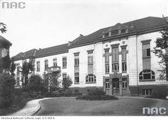 Klinika Neurologiczno-Psychiatryczna Uniwersytetu Jagielońskiego ul.Botaniczna , budowa 1934 r.