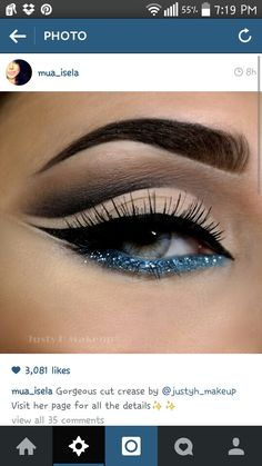 This eye make up is so beautiful