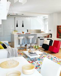 Single Wohnung Einrichten | Pinterest | Compact Living, Small Studio And  Interiors