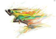 Usain Bolt art
