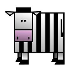 It's not a prisoner . It's not a referee . It's just a funny cartoon zebra! Basic Drawing, Drawing Lessons, Drawing For Kids, Simple Cartoon, Cute Cartoon Animals, Referee, Prisoner, Funny Cartoons, Zebras