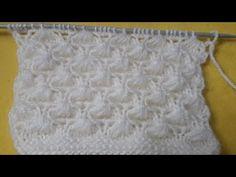 Salyangoz örgü modeli #knitting #hindi - YouTube