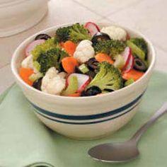 Crunchy Marinated Vegetables Recipe