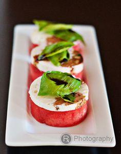 watermelon & feta salad bites