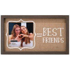 Glory Haus True Friends Burlap Picture Frame Products Pinterest