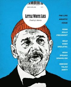 Little White Lies March/April 2005 (UK) Cover  Little White Lies: Truth & Music, The Aquatic Life. Design Director Paul Willoughby  #CoverDesign #LittleWhiteLies