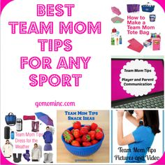FREE Printable TEAM MOM checklist and other GREAT resources to ...