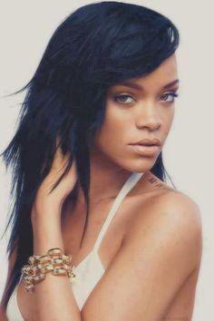 #Rihanna  Dégradé