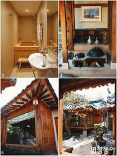 Korean Han Oak House w Modern Interior