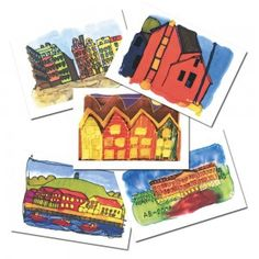 samlebilde-hus Coasters, Coaster