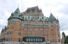 Château Frontenac, Vieux Québec , Quebec City, Québec, Canada - Original Photography  - Anaïs Art Shoppe. www.AnaisArtShoppe.etsy.com