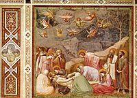 Giotto: Kristusta itketään, 1304-1313, varhaisrenessanssi
