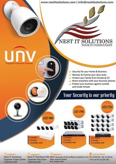 UNV camera   #unv #camera #nest_it_solutions #nest #cctv Nest, Phone, Telephone, Mobile Phones