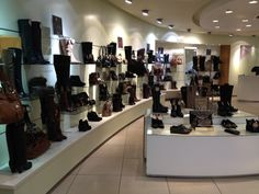 We love shoes!! Boots, shoe boots, heels, pumps all have 20% off this weekend in Dune, on Level 2.