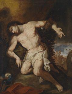 Johann Michael Rottmayr, Saint Sebastian, late 17th century