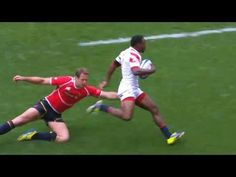 Training with Rugby's Fastest Man Carlin Isles