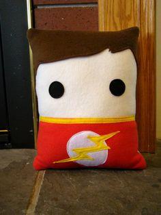 Sheldon Cooper, Big Bang Theory inspired, throw pillow, pillow, plush