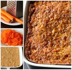 How To Make Carrot Cake Carrot Recipes, Easy Cake Recipes, Dessert Recipes, Carrot Cake Cheesecake, Cheesecake Recipes, Lemon Cheesecake, Easy Carrot Cake, Carrot Cakes, Bakers Gonna Bake