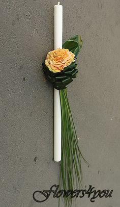 buchete de mireasa: lumanari nunta