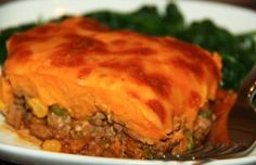 Sweet Potato Shepherd's Pie: There's quite a bit of prep involved, but Casey shares a mouth-watering recipe for shepherd's pie from scratch that's perfect for freezing and reheating....