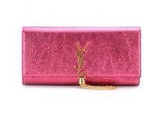 Saint Laurent clutch pink 26x13x4 cm