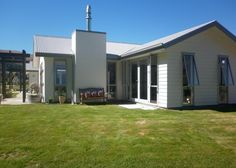 Arrowtown. $295 per nights. Has swings, slide and use of indoor pool and spa. Swing And Slide, Spa Design, Swings, Backyard, Indoor, Night, Outdoor Decor, Modern, Home Decor