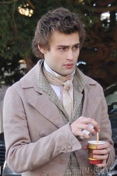 Look everyone! It's Billah! HI, Billah. See, I found an actual human! Douglas-Booth-Movie-Set-A-Storm-In-The-Stars-Tom-Lorenzo-Site Douglas Booth, Theatre, Toms, Costumes, Film, Movies, Movie, Dress Up Clothes, Film Stock
