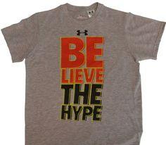 "Under Armour Boy's UA ""Believe The Hype"" Shirt « Clothing Impulse"