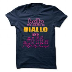 DIALLO - #shirt with quotes #red shirt. DIALLO, hoodie pattern,sweatshirt women. GUARANTEE =>...