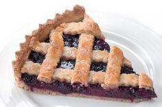 Ostružinový mřížkový páj   Apetitonline.cz Czech Recipes, Blueberry, Food And Drink, Baking, Sweet, Eastern Europe, Cakes, Candy, Berry