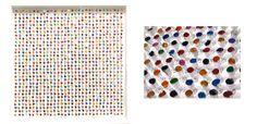 Joanne Tinker, 'Dot Dot Dot', 70 x sweet wrappers. Sweet Wrappers, Dot Dot, Dots, Gallery, Stitches