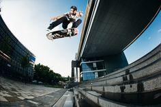 Danny Sommerfeld – Switch Heelflip | Monster Skateboard Magazine #339 |  Photo: Daniel Wagner