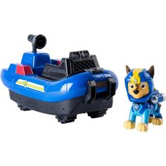 With this Paw Patrol Chase Sea Patrol-Themed Vehicle, your little adventurer can use their imagination to create pup-inspired rescue missions.