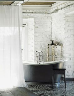 I wouldn't normally consider a dark tub, but...