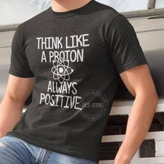 Think like a proton...always positive.