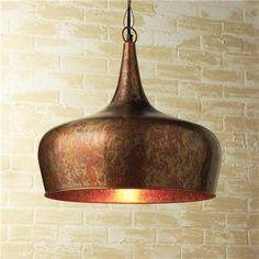 Copper Onion Dome Pendant - Shades of Light