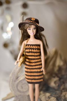 Die 38 Besten Bilder Von Barbiekleidung Barbie Dress Crochet