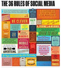 36 rules of social media