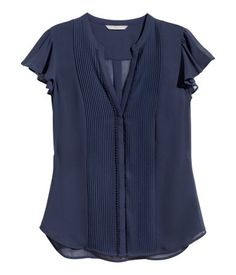 H&M Butterfly-sleeve Blouse $24.95