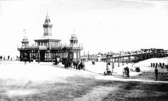 bournemouth pier, 1890