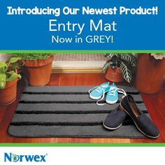 What's the best kind of dirt? The kind that stays outside! 85% of contaminants are brought into the home in the first 4 steps! Our Entry Mat features super-thirsty microfiber and stiff polypropylene bristles so dirt and other pollutants get trapped in the mat instead of being tracked into your home. Use the NorwexRubber Brush to keep it looking fresh between washings. To launder, toss in washing machine. Air-dry. #Norwex2015