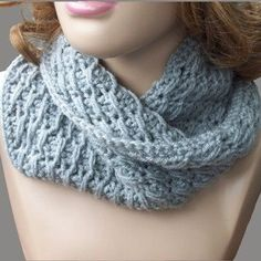 This is a really good-looking (and FREE) crochet cowl pattern. It would be great in Perfection, Liberty Wool, Maxima, Tonos Worsted, Misti Alpaca Worsted...